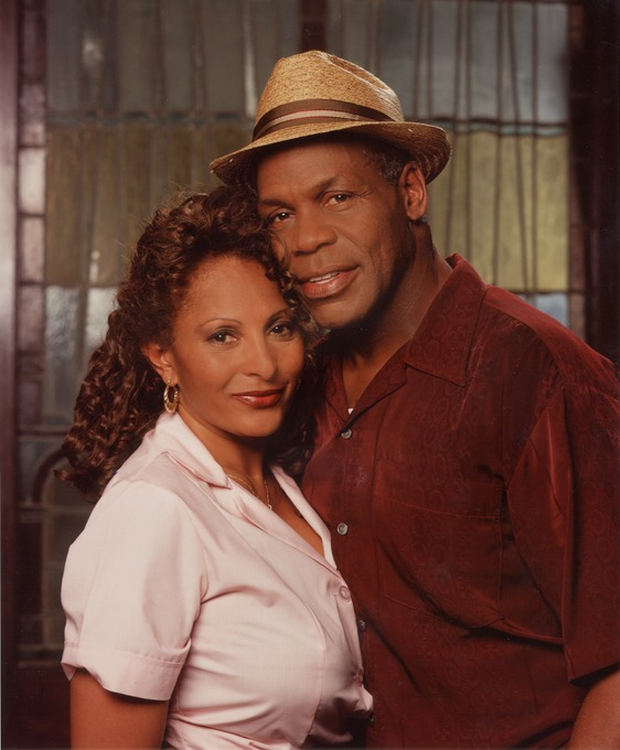 Danny Glover and Pam Grier